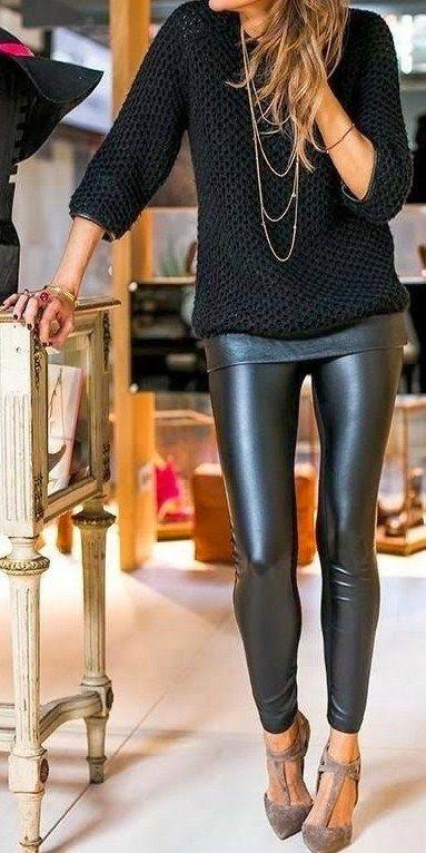 calca-de-couro-moda-2017-modelos
