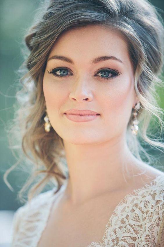 penteados para noivas 2017 modelos