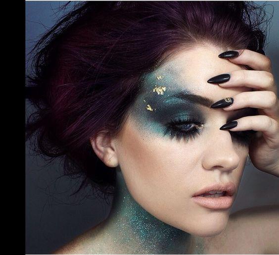 maquiagem-para-carnaval-usando-glitter