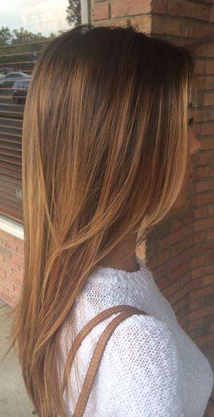 Cores de cabelos 2017