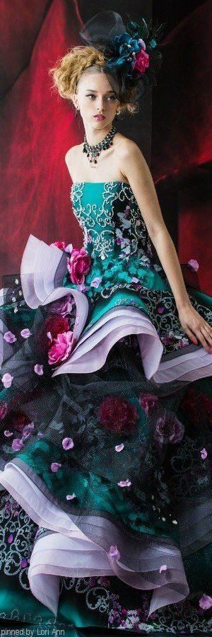 dicas-de-vestidos-de-noiva-coloridos