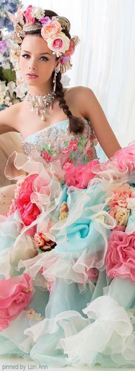 fotos-de-vestidos-de-noiva-coloridos
