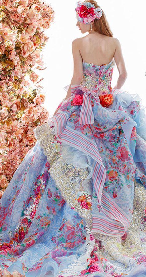 vestido-colorido-para-casamento