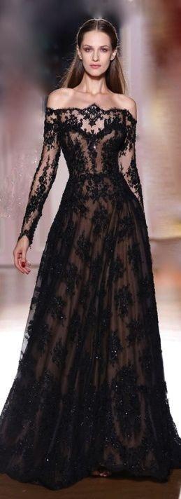 vestidos-de-noiva-coloridos-preto