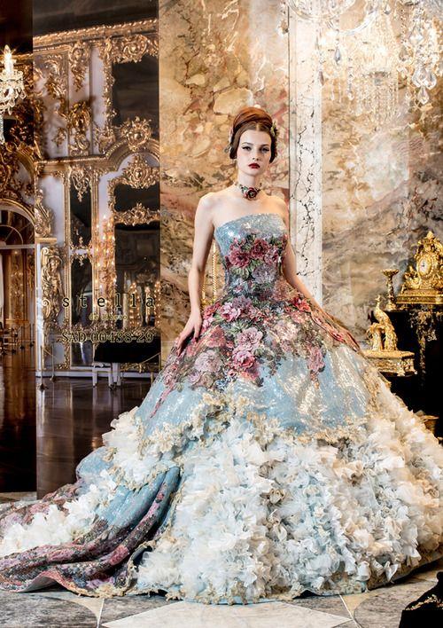 vestidos-de-noiva-coloridos-tendencias