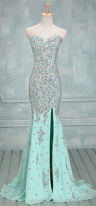 vestidos-de-noiva-coloridos-verde-agua