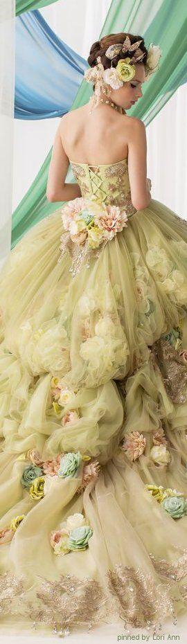 vestidos-de-noiva-coloridos-verde