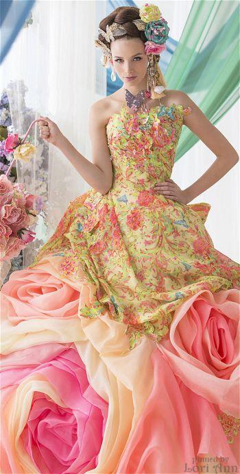 vestidos-de-noivas-alegres-coloridos