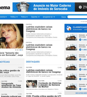 Site Jornal Ipanema Sorocaba