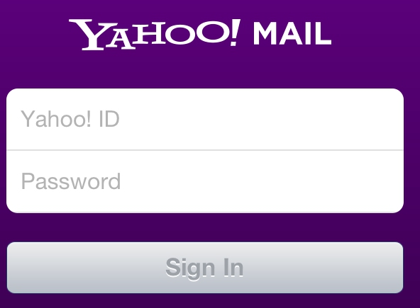 Pin Yahoomail Sign In Page on Pinterest