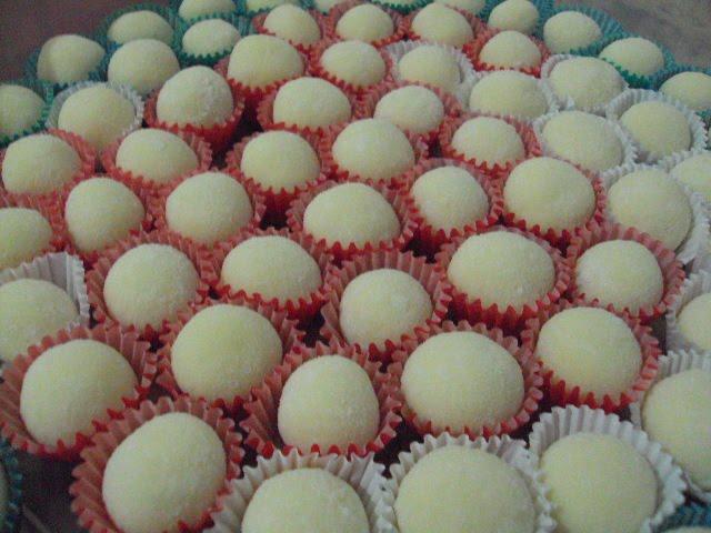 Receitas de doces fáceis - Docinhos de Leite Ninho
