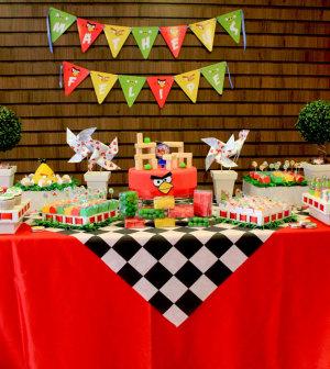 decoracao angry birds para festas