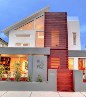 32 fachadas de casas modernas maravilhosas for Modelos de fachadas modernas para casas