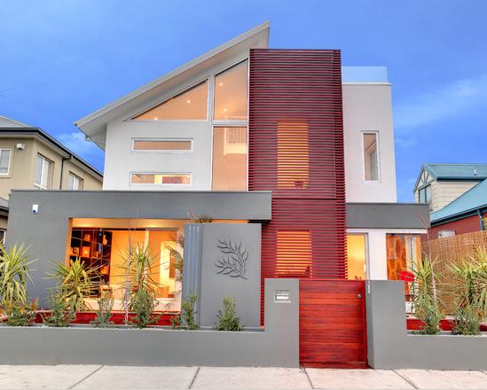 32 fachadas de casas modernas maravilhosas for Fachadas para residencias