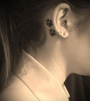 Tatuagens Atrás Da Orelha Modelos Para Inspirar