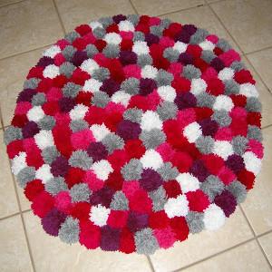 Como fazer tapetes de lã