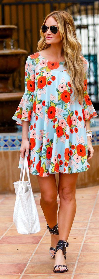 vestido-floral-curto-verao