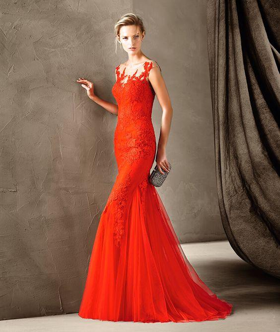 vestidos-de-renda-longo-2017-vermelho