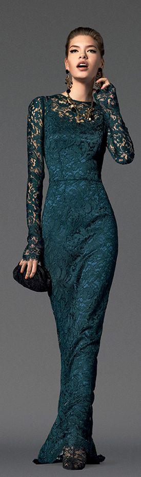 vestidos-de-renda-longo-classico