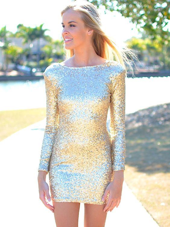 vestidos-dourados-curtos-2017
