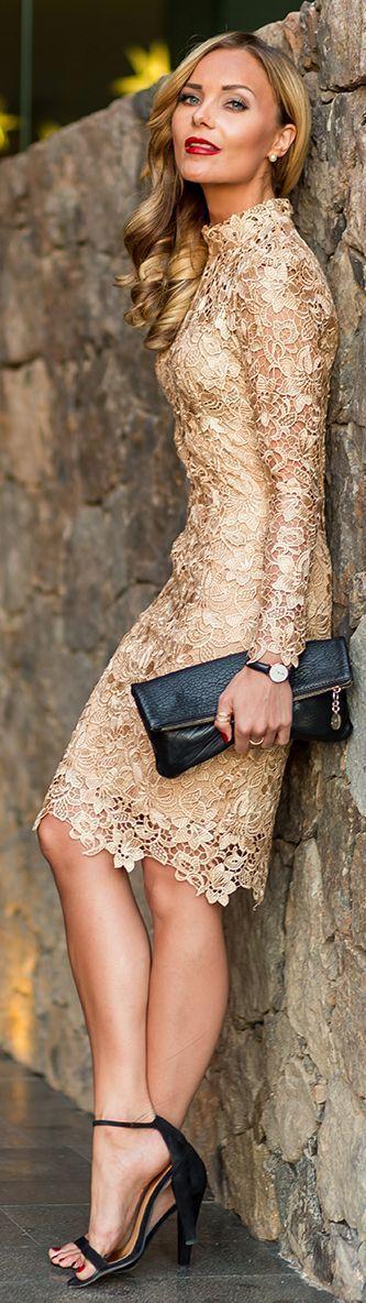 vestidos-dourados-curtos-chique