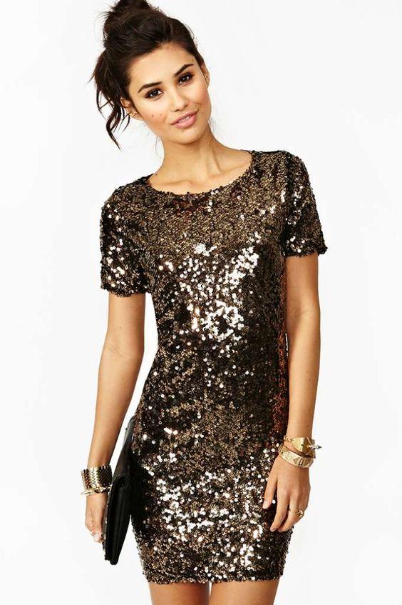 vestidos-dourados-curtos-de-festas