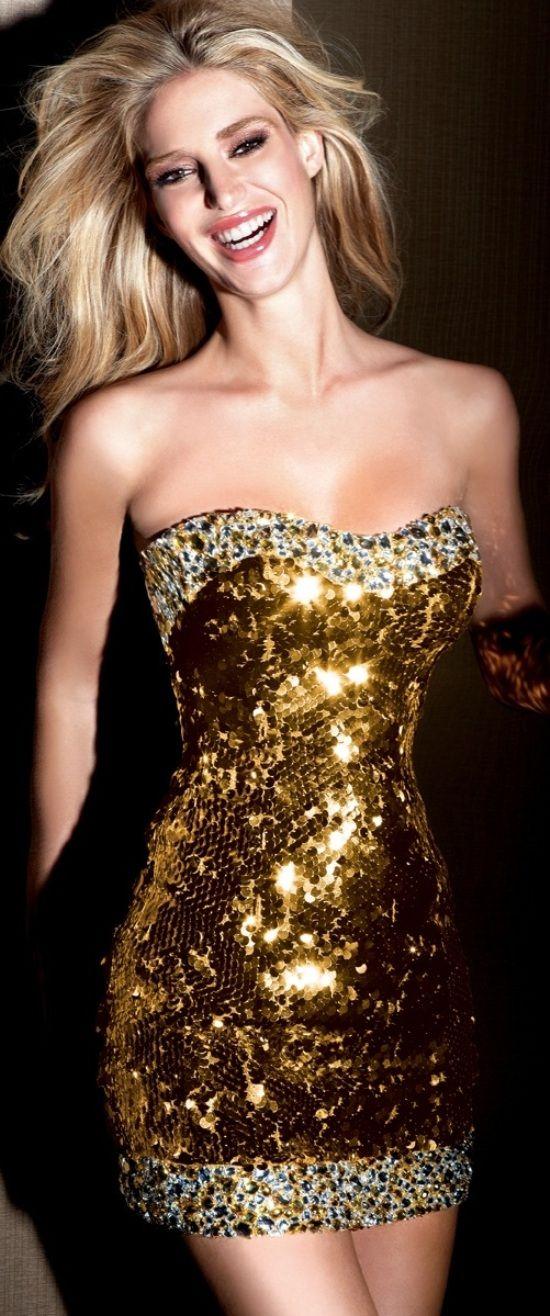 vestidos-dourados-curtos-sexy
