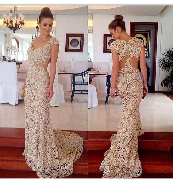 Vestidos de Renda Moda 2017