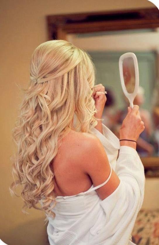 Penteados para Debutantes 2017 para cabelos loiros