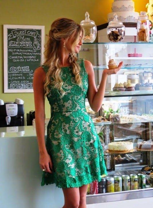 vestidos-de-renda-verde