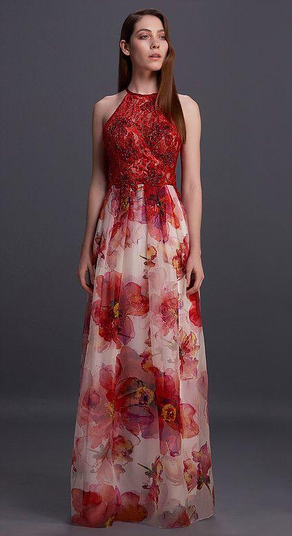 Fotos de vestidos primavera 2017 longos