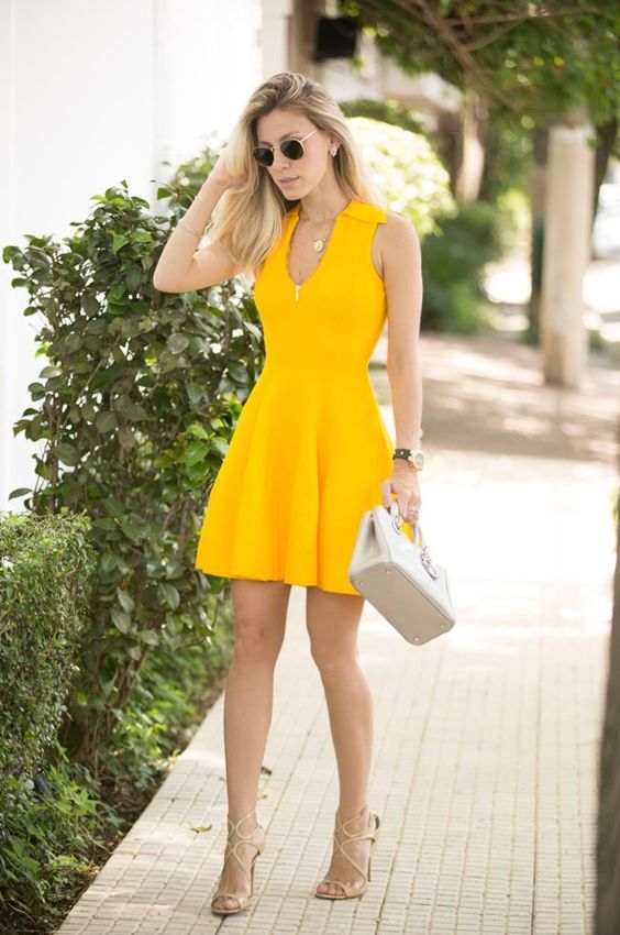vestidos-primavera-amarelos