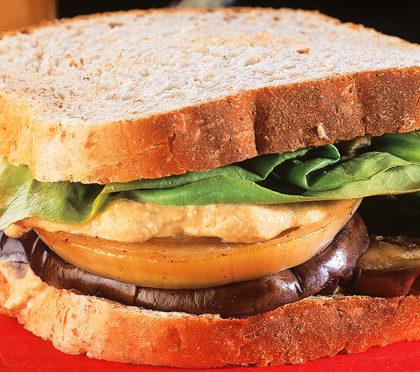sanduiche vegetariano