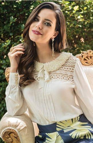 Blusa Social Feminina Moda 2019
