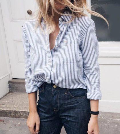 camisa social feminina para trabalhar moda 2018