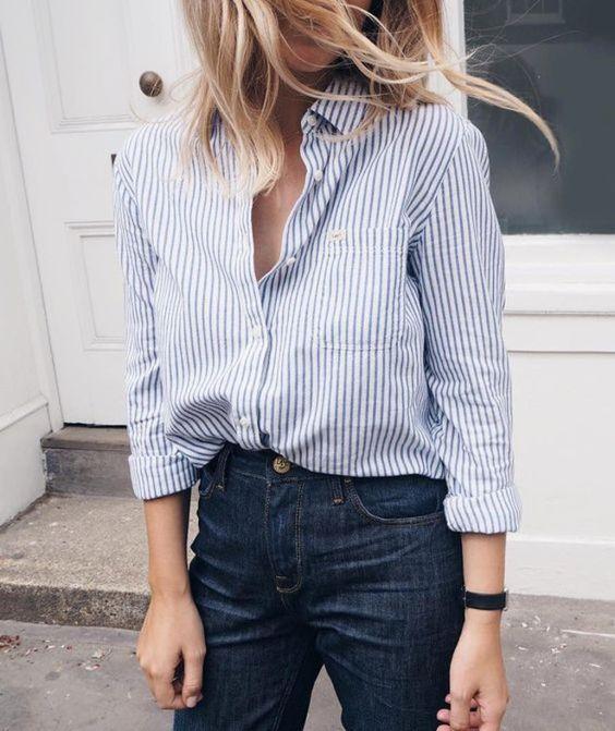 camisa social feminina para trabalhar moda 2019