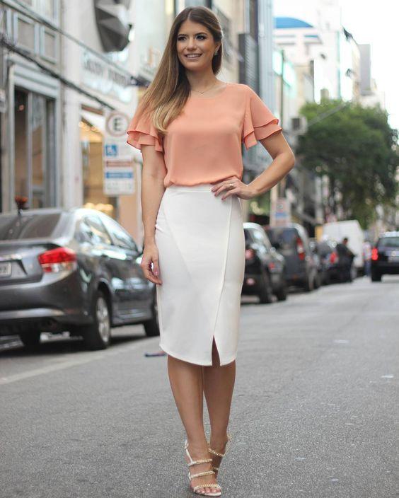 camisa social feminina para trabalhar