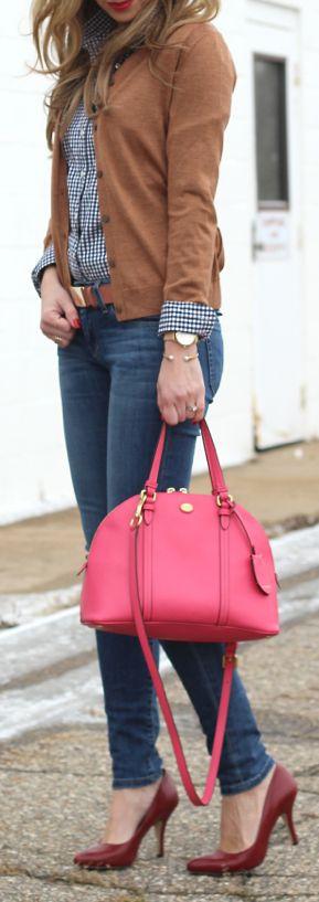 blusa social feminina com bolsas