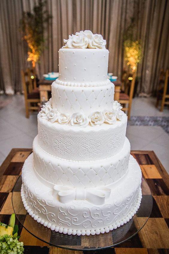 Bolos para Casamentos 2018