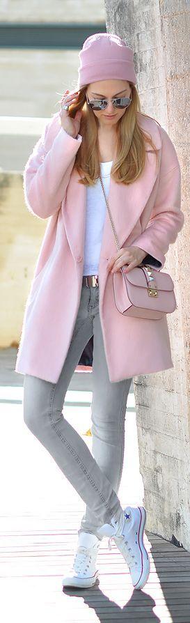 casacos rosas