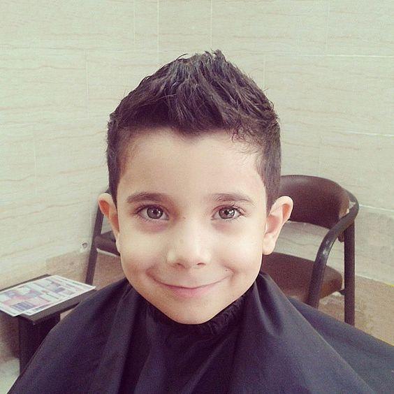 Cortes de cabelo infantil de meninos