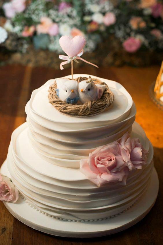 como fazer Bolos para Casamentos 2018