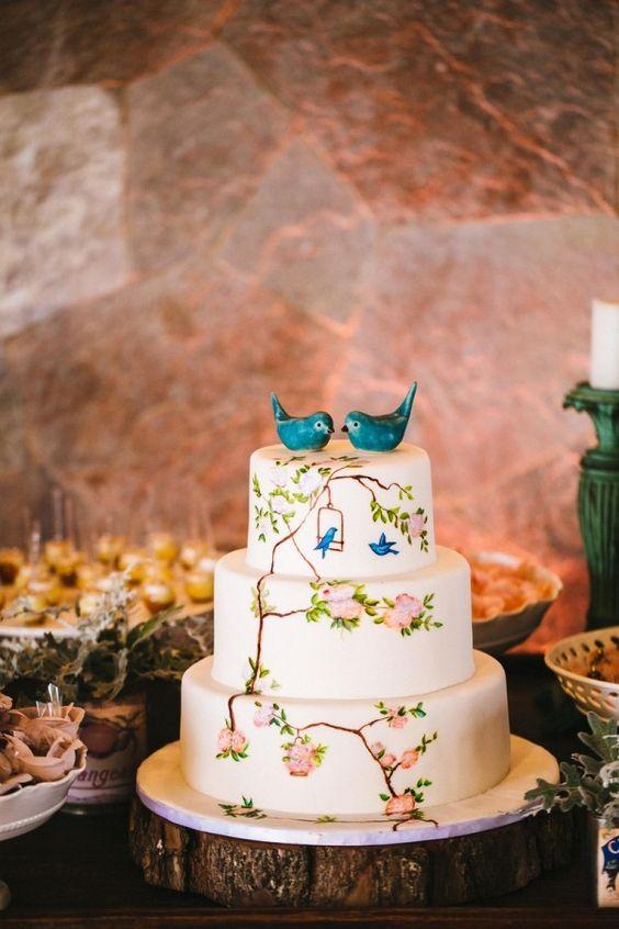 Fotos de como fazer Bolos para Casamentos 2018