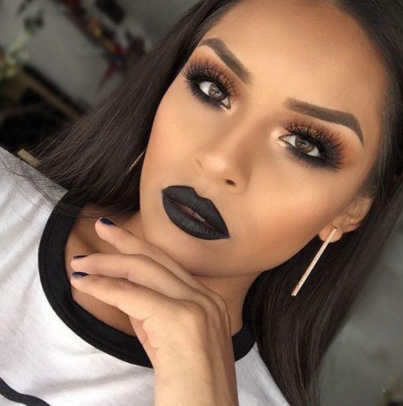Maquiagem rock moda 2018