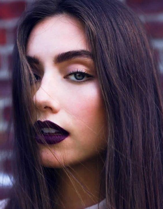 Maquiagem para show de rock