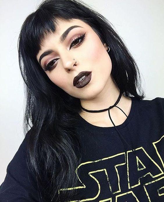 Maquiagem estilo Rockeira