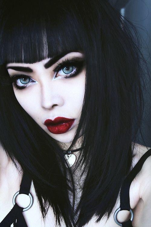 Maquiagem estilo rock