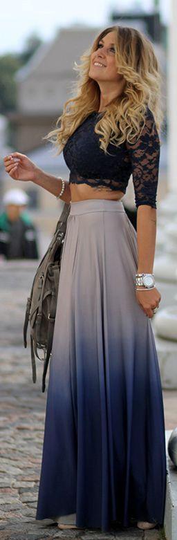 saia longa feminina moda 2019