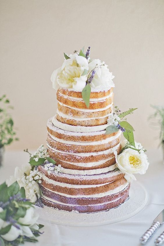 Tendências bolos casamentos 2018