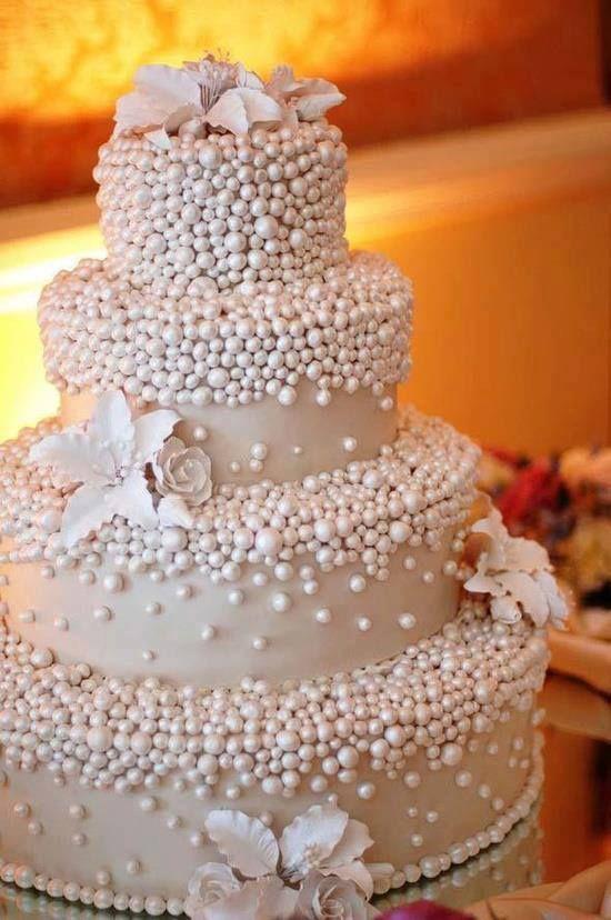 Tendências bolos de casamentos 2018